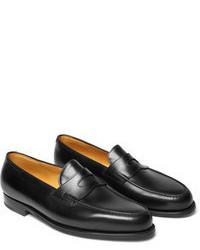 John Lobb Lopez Leather Penny Loafers