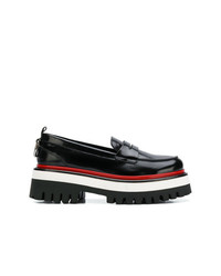 MSGM Ridged Pltform Loafers
