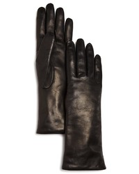 Bloomingdale's Cashmere Lined Leather Gloves 100%