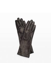 Keliee long leather glove medium 1317515