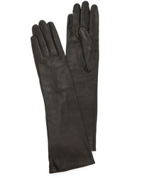 Long leather gloves medium 1317513