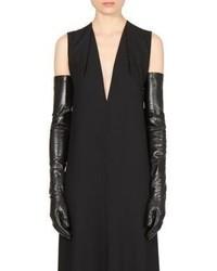 Ann Demeulemeester Long Leather Gloves