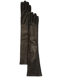 Bloomingdale's Long Leather Gloves