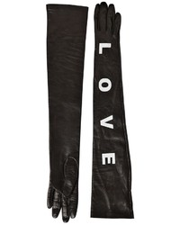 Versace Love Long Nappa Leather Gloves