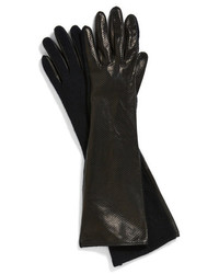 Vince Camuto Perforated Leather Gloves