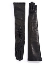 Saks Fifth Avenue Collection Opera Leather Gloves
