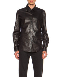 BLK DNM Leather Shirt 15