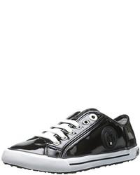 Armani Jeans Low Top Patent Fashion Sneaker