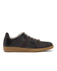 Maison Margiela Black And Brown Replica Sneakers