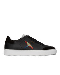 Axel Arigato Black And Grey Bird Clean 90 Sneakers