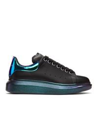Alexander McQueen Black And Multicolor Oversized Sneakers