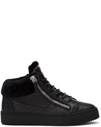 Giuseppe Zanotti Black Arena May London Sneakers