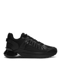 Balmain Black B Trail Sneakers
