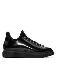 Officine Creative Black Krace 10 Sneakers