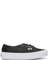 Vans Black Og Authentic Lx Vl Sneakers