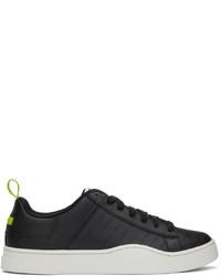 Diesel Black Perforated S Clever Sneakers
