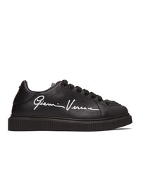 Versace Black Signature Nyx Sneakers