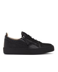 Giuseppe Zanotti Black System Frankie Sneakers