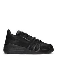 Giuseppe Zanotti Black Talon Low Sneakers