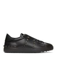 Valentino Garavani Black Untitled Sneakers