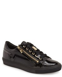Versace Collection Side Zip Low Top Sneaker
