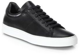 c593a7e8fbc Hugo Boss Cup Sole Leather Sneakers, $345 | Saks Fifth Avenue ...