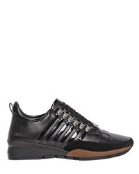 DSquared Leather Low Top Sneakers