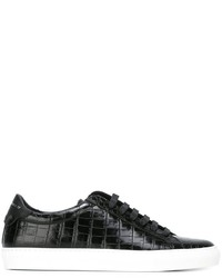 Givenchy Embossed Lo Top Sneakers