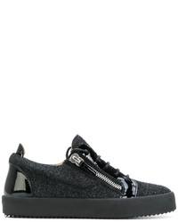 Giuseppe Zanotti Design Gail Glitter Low Top Sneakers