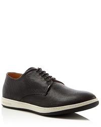 Giorgio Armani Armani Leather Lace Up Sneakers