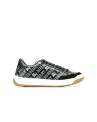 Burberry Logo Lace Up Sneakers