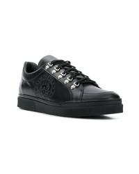 e51399b4011 ... Balmain Logo Stamp Low Top Sneakers ...