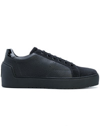 Giorgio Armani Low Top Lace Up Sneakers