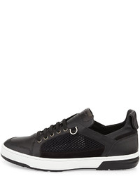 Salvatore Ferragamo Leather Low-Top Sneakers nicekicks cheap online eastbay cheap price ORFJGRj9