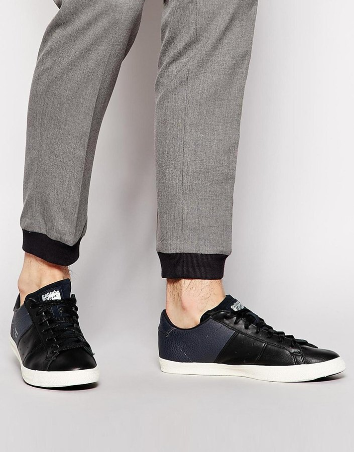 onitsuka black leather off 52% - www