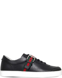 Gucci Saville Leather Trainers