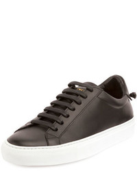 Givenchy Urban Street Leather Low Top Sneaker Black