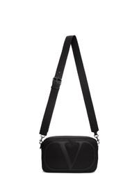 Valentino Black Garavani Vlogo Messenger Bag