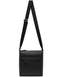 Salvatore Ferragamo Black Revival 30 Messenger Bag