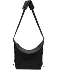Tom Ford Black Zip Messenger Bag
