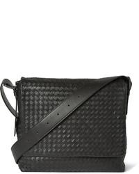 Bottega Veneta Cabriolet Perforated Leather Messenger Bag Black Out of  stock · Bottega Veneta Intrecciato Leather Messenger Bag b33f8d5dd055b