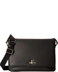 Vivienne Westwood Leather Positano Bag Messenger Bags