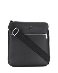 Emporio Armani Logo Plaque Messenger Bag