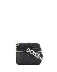 Dolce & Gabbana Logo Stamp Messenger Bag