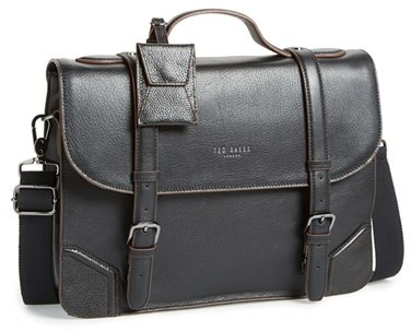 Ted Baker London Lextons Leather Messenger Bag