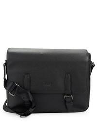 Hugo Boss Martie Leather Messenger Bag