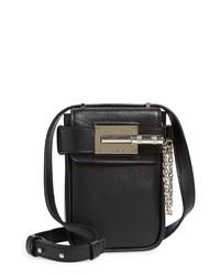 Amiri Mini Amp Leather Crossbody Bag