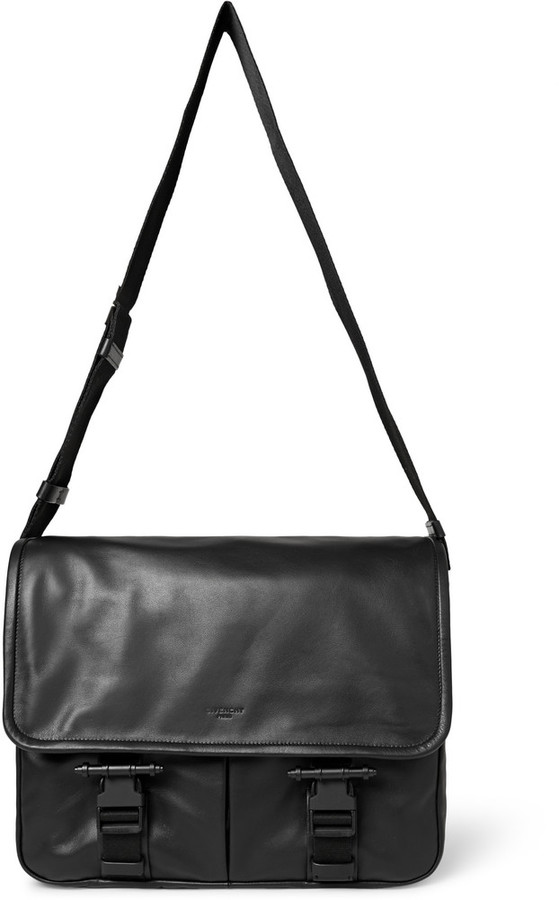 a1acac543c ... Givenchy Obsedia Leather Messenger Bag ...
