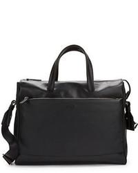 Hugo Boss Perig Leather Messenger Bag
