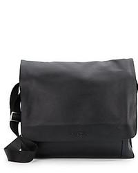Robert Graham Hathaway Faux Leather Messenger Bag
